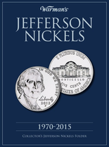 Warmans Folder: Jefferson Nickels 1970-2015