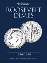 Warmans Folder: Roosevelt Dimes 1946-1964