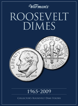 Warmans Folder: Roosevelt Dimes 1965-2009