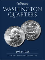 Warmans Folder: Washington Quarters 1932-1958