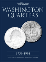 Warmans Folder: Washington Quarters 1959-1998