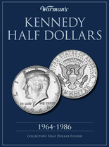 Warmans Folder: Kennedy Half Dollars 1964-1986