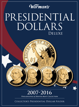 Warmans Folder: Presidential Dollars 2007-2016 - Deluxe