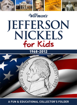 Warmans Folder: Jefferson Nickels for Kids 1968-2012