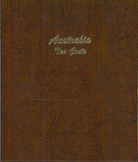 Dansco Album Australia 10c decimal 1966-