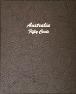 Dansco Album Australia 50c decimal 1966-