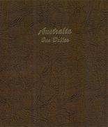 Dansco Album Australia One Dollar