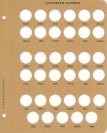 Dansco Album Jefferson Nickels Replacement Page 2