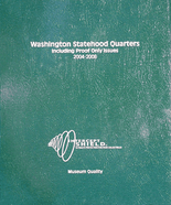Intercept Shield Washington Statehood Quarters with proof 2004-2008