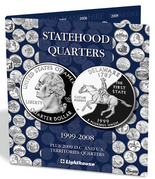 Lighthouse Folder: Statehood Quarters with DC & US Territories 1999-2008