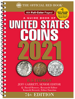 2021 Red Book Price Guide of United States Coins-Spiral