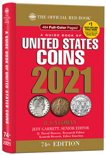2021 Red Book Price Guide of United States Coins-Hidden Spiral