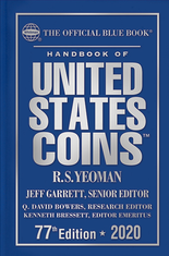 2020 Blue Book, Handbook of United States Coins- Hardcover
