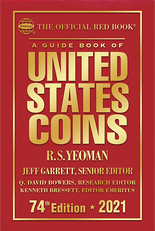 2021 Red Book Price Guide of United States Coins -Hardcover
