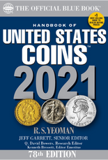 2021 Blue Book, Handbook of United States Coins- Paperback