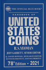 2021 Blue Book, Handbook of United States Coins- Hardcover