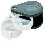 Zeiss Aplanatic-Achromatic Double Pocket Loupe: 36D (9X)