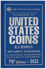 2022 Blue Book, Handbook of United States Coins- Hardcover