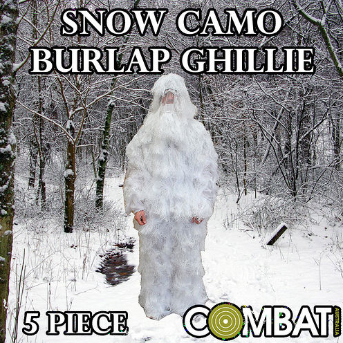 Snow Ghillie Suit (white)