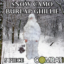 Snow Ghillie Suit