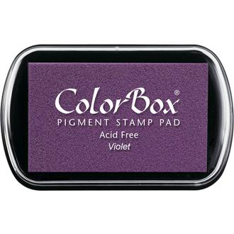 Color Box Stamp Pad, Pigment Ink, Violet