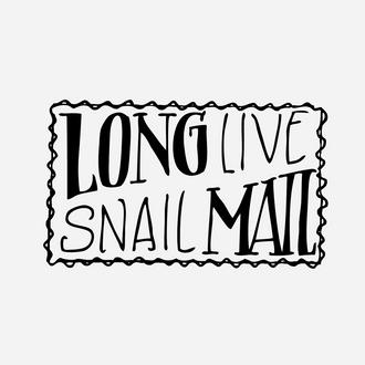 """""""Snail Mail"""" Envelope Stamp"""