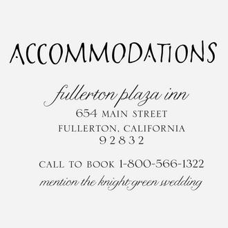 """Art Deco"" Accommodations Stamp"