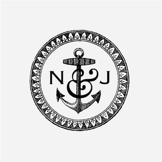 Anchor Monogram Stamp