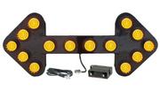 "MEGA Bright LED Large Arrow Board  60""x24"""