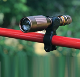 Covert Tactical ZOOM Flashlight by Sho-Me with Flash