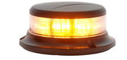 SoundOff 2400 Series Amber Beacon Low Pro Magnetic mount Class 1
