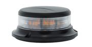 SoundOff 2400 Amber Beacon Low Profile Permanent Mount Class 1 Clear Lens