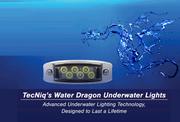 Water Dragon Underwater Light 6 LED BLUE