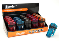 EUROJET LIGHTERS 20 Multicolor Lighters per Box