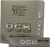 OCB EXPERT SLIM FIT (118mm x 39mm) Paper Quality: 13.0 gsm  (Ultra Transparent Paper) 32 Leaves per Booklet 50 Booklets per Box (THIS PRICE IS FOR A COMPLETE BOX OF 50 BOOKLETS)