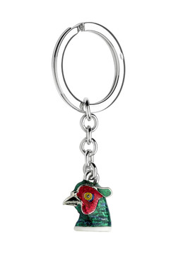 Pheasant Keyring by Deakin and Francis