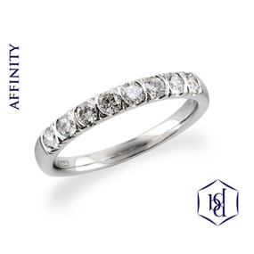 Affinity Diamond Ring in Platinum (Prices from £1775.00)