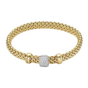 Fope Diamond Set Vendome Bracelet
