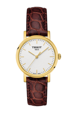 Tissot Everytime Small (Brown Strap & PVD)