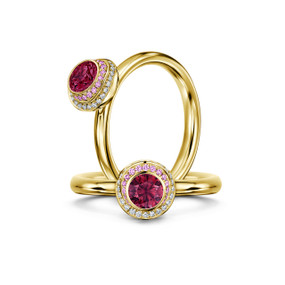 Andrew Geoghegan, Clair De Lune Ruby Ring