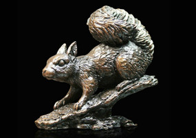 "Limited Edition Richard Cooper Bronze ""Red Squirrel""."