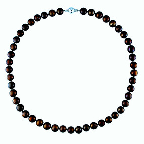 Black/Brown Cultured Freshwater Pearl Necklace