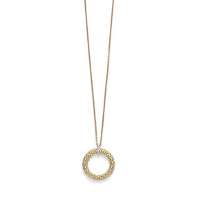 "18ct Yellow Gold & Diamond ""Lovely Daisy"" Pendant by Fope"