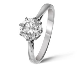 Pre-owned 1ct Diamond Ring (£8750.00)