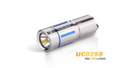 Fenix UC02 Stainless Steel Keychain Flashlight