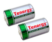 Tenergy D Cell - High Discharge Alkaline (LR20)