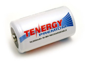 Tenergy D-Cell 10,000mah Premium Ni-MH (High Discharge)
