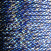 RG113 Blue Speck Paracord