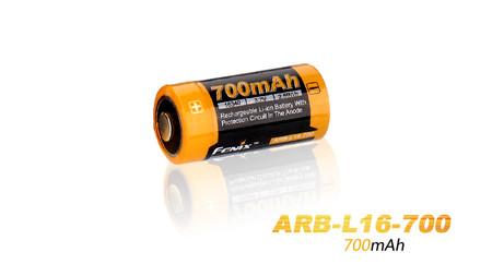 Fenix ARB-L16 16340 700mAh Li-Ion Battery
