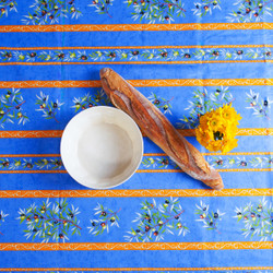 Blue Olive Easy-Wipe Tablecloth